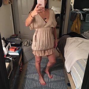 Harkam Silk Grecian Dress
